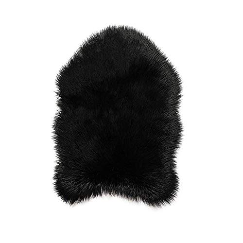 Faux Fur Soft Fluffy Single Sheepskin Style Rug Chair Cover Seat Pad Shaggy Area Rugs For Bedroom Sofa Floor Alalaso from Alalaso