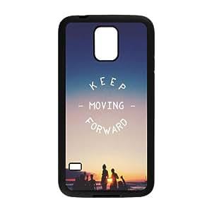 Samsung Galaxy S5 Cell Phone Case Black_Keep Moving Forward Nxbre