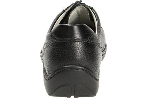 Leather Nero 496005 Shoes Henni Nero Waldlaufer Womens SqwvxPSUt