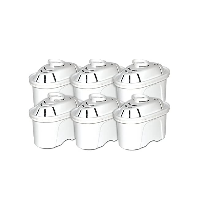 Universal 6 Pack of Water Filter Cartridges to...