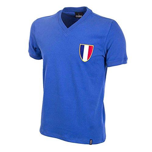 COPA Frankreich Olympia Retro Fussball Trikot 1968
