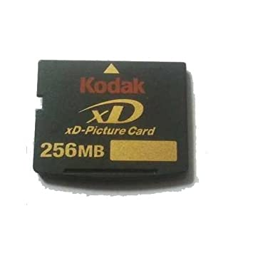 Amazon.com: Kodak 256Mb XD Picture Card (Digital Assurance ...