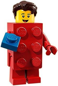 LEGO Minifigures Series 18 - Chico con disfraz de brick: Amazon.es ...