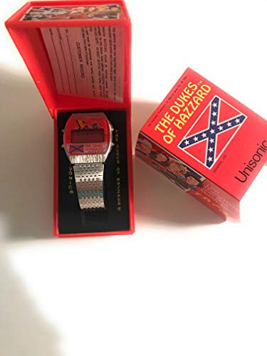 (The Dukes Of Hazard LCD Quartz Watch with Dixie Melody Alarm - BRAND NEW OLD STOCK!! (1981))