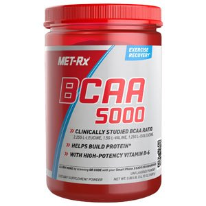 Met-RX poudre BCAA Supplément Diet, 400 gram