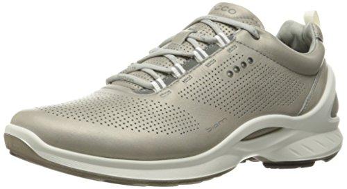 ECCO Mens Biom Fjuel Terrain Oxford Silver Grey