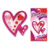 : Stuck on You Jewel & Glitter Heart Tattoo Stickers (Sold Individually)