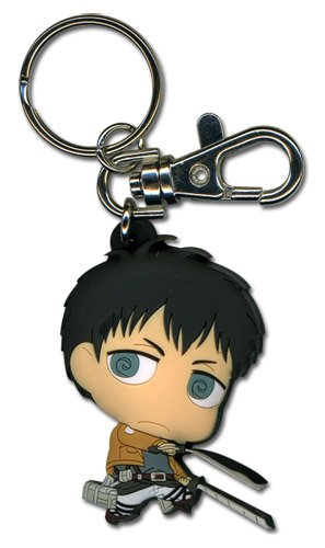 Price comparison product image Great Eastern Entertainment Attack On Titan SD Bertholdt PVC Keychain
