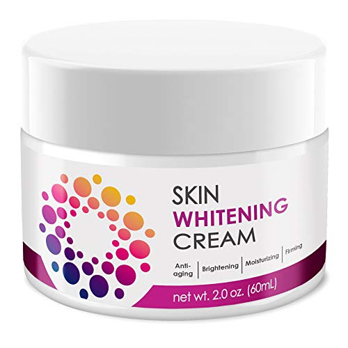 ACTIVSCIENCE Whitening Cream - Powerful Skin Lightening Cream for Face & Body. Dark Spot, Melasma & Hyperpigmentation Treatment. Sans Hydroquinone. 2 fl oz.