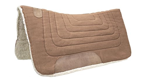 - Tahoe Tack Canvas Contour Western Horse Saddle Pad - Multiple Colors and Sizes