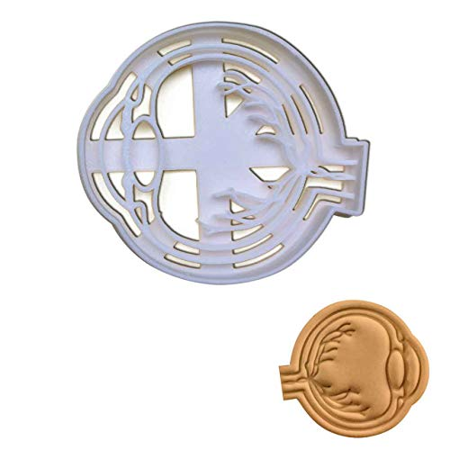 Anatomical Eyeball (Side) cookie cutter, 1 piece - Bakerlogy -