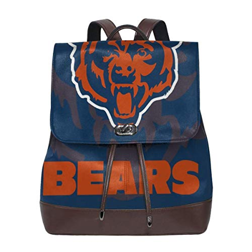 Chicago Bears Nfl Nano - Aoskin Custom Chicago Bears Women's Backpacks Shoulder Bag Female Backpack Purse