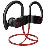 Bluetooth Headphones, Otium Wireless Sports Earbuds,Waterproof IPX7 w/Mic, HD Stereo Sweatproof in-Ear Earphones, Case, Fast Pairing Gym Running Workout, 8-9 Hrs Battery Headsets[Upgraded Version]