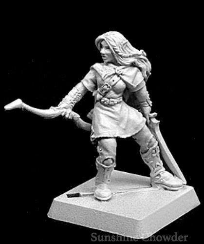 War Elf (Selwyn Elven Captain 14165 - Warlord - Reaper Miniatures?D&D Wargames Female Elf ^G#fbhre-h4 8rdsf-tg1306591)