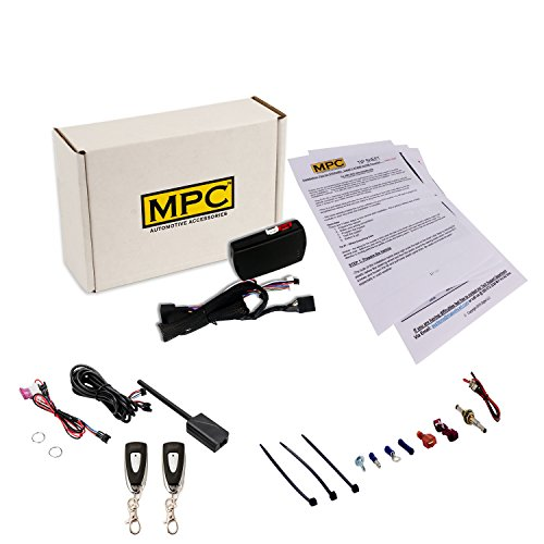 MPC Complete 1-Button Remote Start for 2007-2018 Jeep Wrangler – Plug and Play for Easy Install