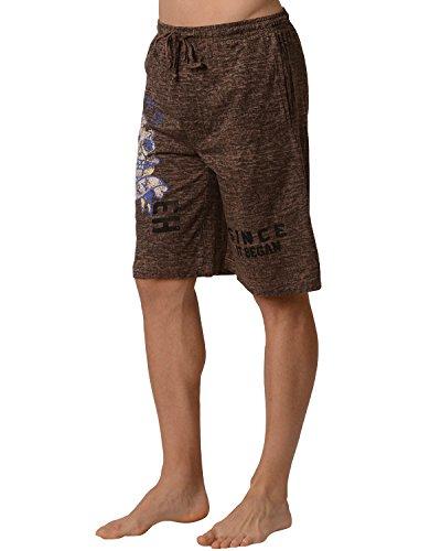 Ed Hardy Men's Glory Lounge Shorts - Sand Storm Ed Hardy Mens Clothing