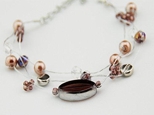 Purple Silk Thread Bracelet - 3