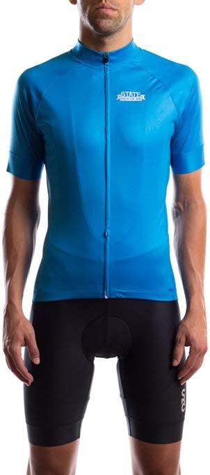 State Bicycle Co. - Black Label Jersey (XXL, Laguna Blue)