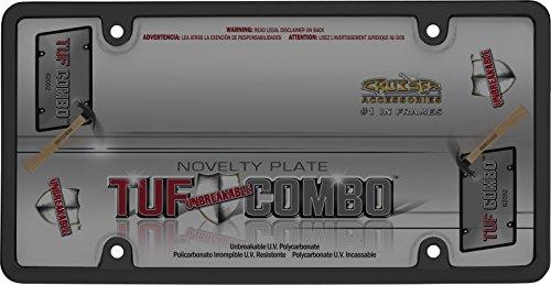 - Cruiser Accessories 62052 Tuf Combo, Black/Smoke