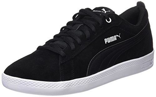 01 Sd Top Puma Puma puma Black Low Black WNS Women V2 Smash Trainers Black OwqaIwY