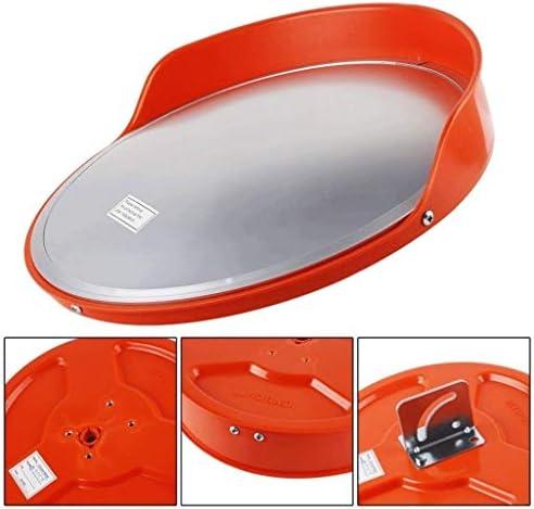 カーブミラー 死角をなくすための適切な安全な交通ミラー、屋外ユニバーサル安全凸面鏡、 RGJ4-24 (Size : 600mm)