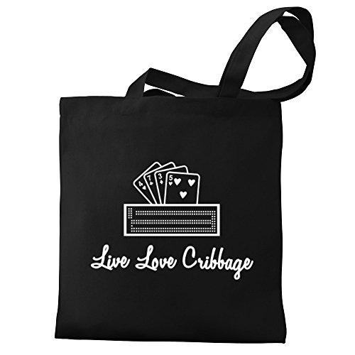 Eddany Live love Cribbage Bereich für Taschen I3pD95znp