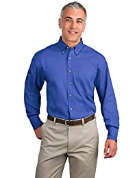 Port Authority Men's Long Sleeve Twill Shirt