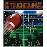"""Amscan Football Frenzy Birthday Game Scene Setters Wall Decorating Kit (5 Piece), Multi Color, 14.5 x 10.2"""""""