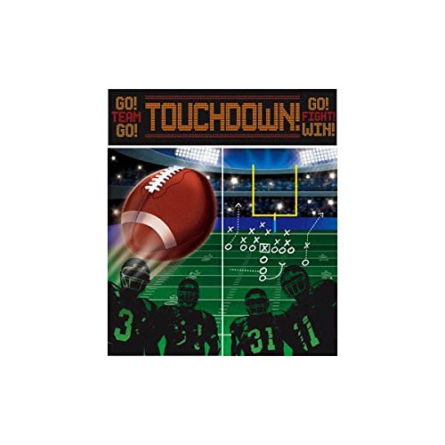 Amscan Football Scene Setters Wall Party Decorating - Wall Supply Sports