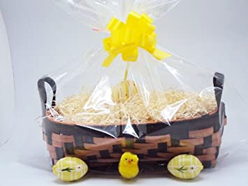 Easter gift baskethamper making kit consisting of 12 x 7 x 4 easter gift baskethamper making kit consisting of 12quot x 7quot x negle Images