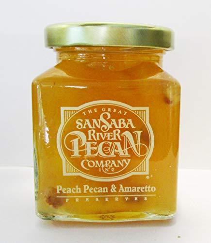 San Saba River Pecan Peach Pecan & Amaretto Preserves ()