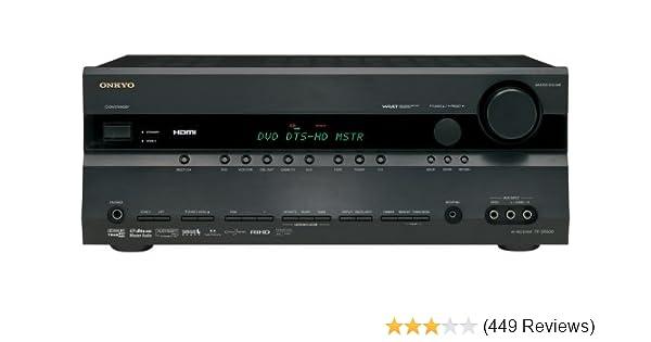 amazon com onkyo tx sr606 7 1 channel home theater receiver black rh amazon com Onkyo 676 Back Panel onkyo tx sr606 review