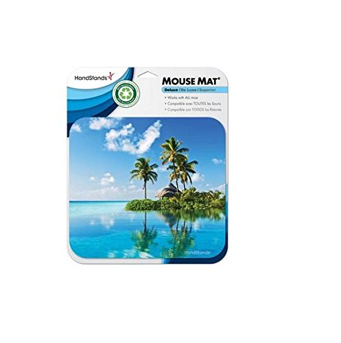 Deluxe Antimicrobial Mouse Mat (HandStands Beach Scene Deluxe Mouse Mat)