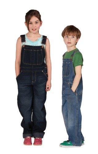 Uskees Kids Overalls Age 10 12 14 Dark Indigo Blue Girls Boys Overalls KD04