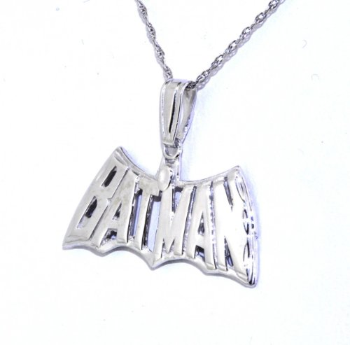 Sterling Silver Batman Charm
