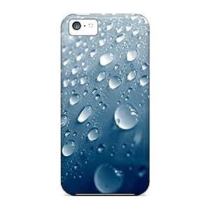 For Iphone 5c Premium Tpu Case Cover Rain Protective Case