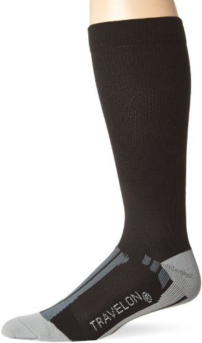 travelon-compression-travel-comfortable-socks-black-gray-large