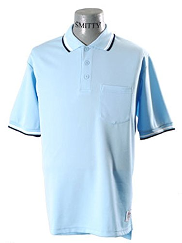 Smitty BBS300 Powder Blue Umpire Shirt (X-Large) ()