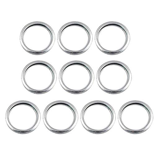 Engine Oil Drain Plug Sealing Washers/Crush Gaskets 11126AA000 Fit for Subaru Outback Crosstrek Forester WRX Impreza(10 Pcs)