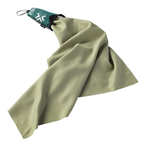 Price comparison product image Lewis N Clark Campack Large Towel,  Green