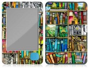 gelaskins bookshelf