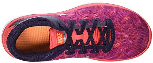 Nike Mädchen 845029-502 Trail Runnins Sneakers aubergine/orange