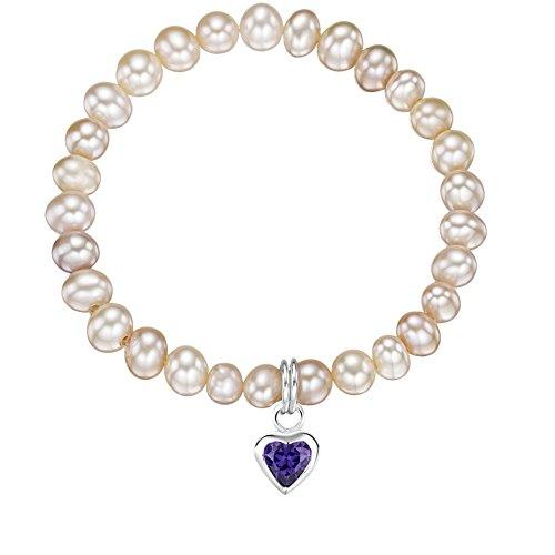 Jo for Girls - Bracelet - Argent 925 - Oxyde de Zirconium - 14.0 cm - CB160App