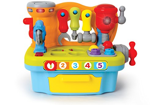 Early Development DIY Toddler Toolbox Toy Workshop For Toddlers by Kinder Toys Network