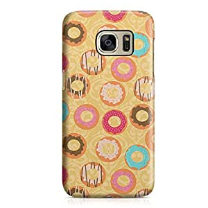 Samsung Galaxy S7 Case Bakery Donuts Sweets Hard Plastic Tough Samsung Galaxy S7 Cover Wrap Around