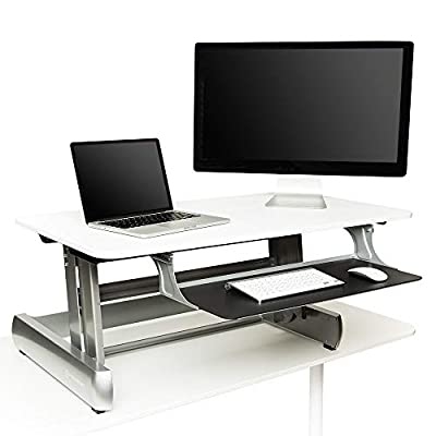 InMovement Standing Desk, Adjustable Heights for Sitting or Standing While You Work by InMovement