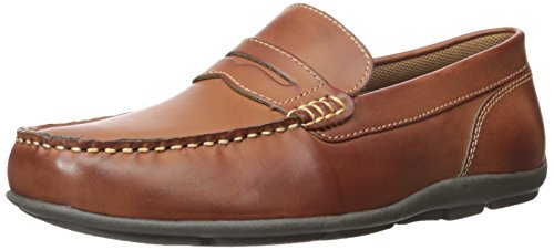 Tommy Hilfiger Men's Davey Slip-on Loafer, Cognac, 13 M US