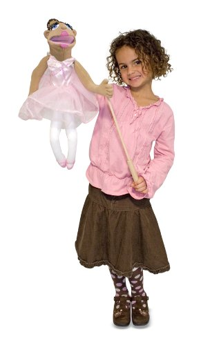 Ballerina Puppet (Full-Body) by Melissa & Doug - Ballerina Doug Puppet