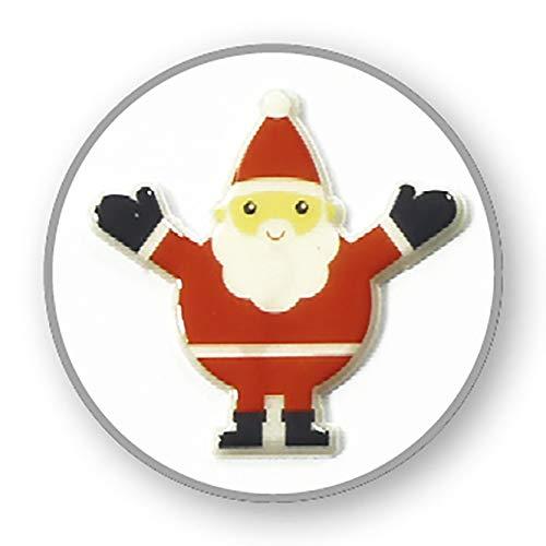 in plastica Maildor 17,5 x 9 x 0,1 cm Set di Adesivi Cooky Trendy Christmas a Tema Natalizio