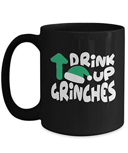 Shirt White Adults Xmas Gift Idea For Christmas Coffee Mug 15oz Black ()